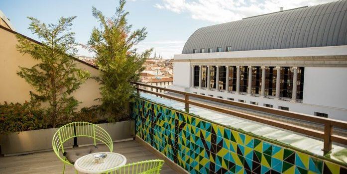TAPAS Y COCKTAILS EN LA TERRAZA DEL HOTEL ÓPERA